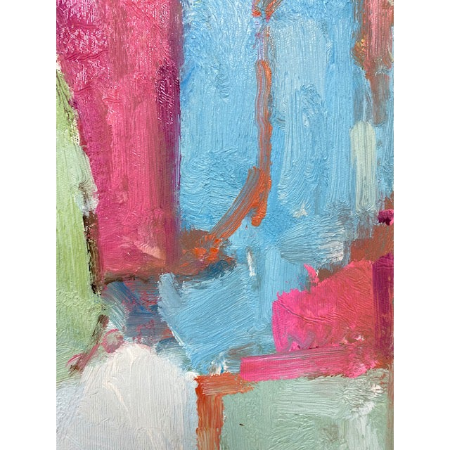 Abstract Original Oil Painting For Sale - Image 4 of 9