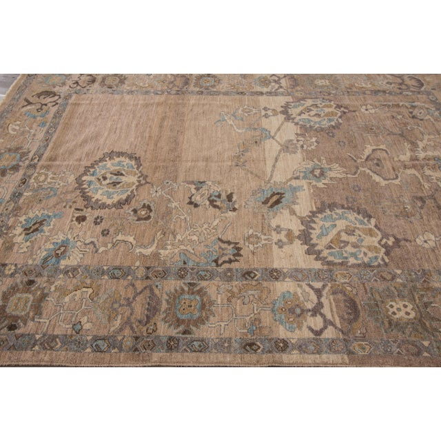 """Wool Sultanabad Rug - 6'9"""" x 9'10"""" - Image 3 of 7"""