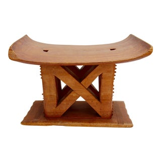 African Ashanti Stool For Sale