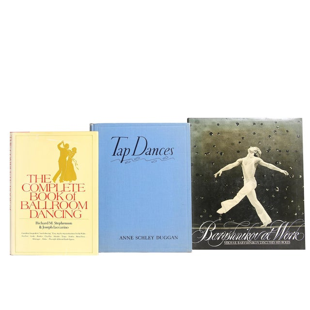 Rhythmic Movement Collection, S/20. Twenty midcentury-era books featuring a curated collection of all things dance...