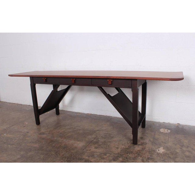 Brown Dunbar Console or Sofa Table by Edward Wormley For Sale - Image 8 of 11
