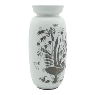 1960s Stig Lindberg Ceramic Grazia Vase For Sale