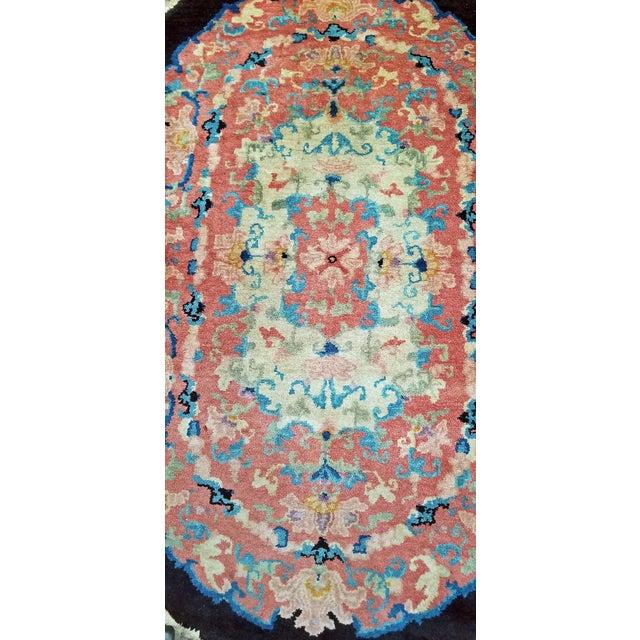 Art Deco Art Deco Helen Fette Oriental Floor Rug Medium2 For Sale - Image 3 of 5