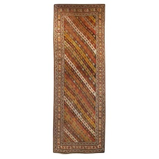 """19th Century Persian Runner - 42"""" x 120"""" For Sale"""