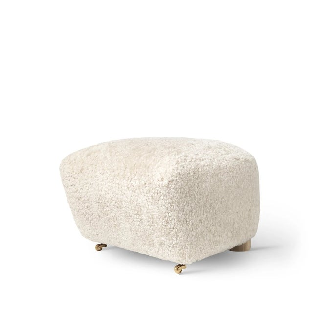 Mid-Century Modern Lassen the Tired Man Footstool For Sale - Image 3 of 3