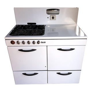 1940's White Porcelain Magic Chef Stove