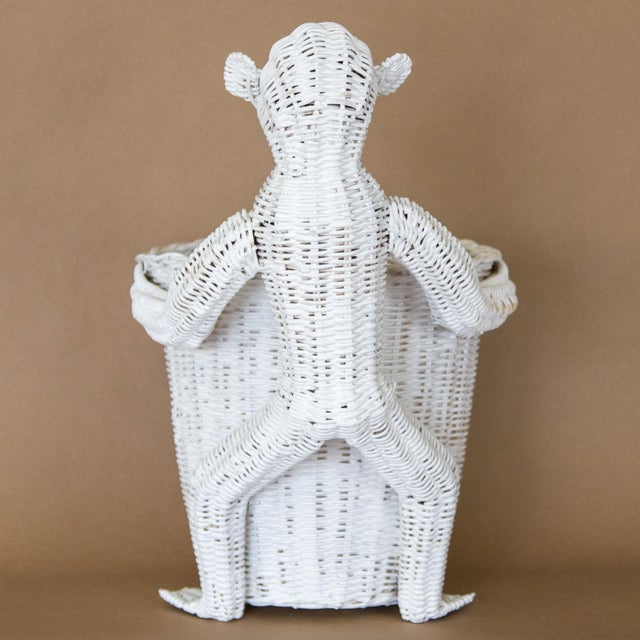 Mario Lopez Torres Wicker Monkey Basket For Sale - Image 9 of 11