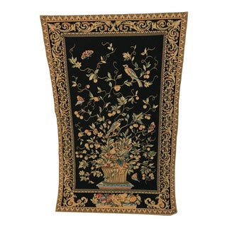 European Style Avian Wall Tapestry For Sale