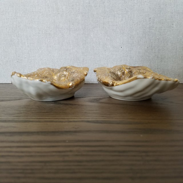 Mid 20th Century Mid Century Hands Trinket Bowls, a Pair For Sale - Image 5 of 7