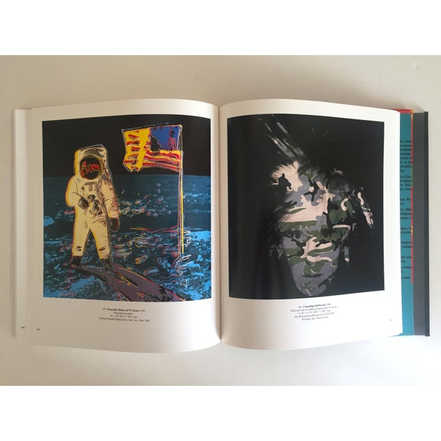 "Contemporary ""Andy Warhol a Retrospective"" Rare 1st Edition 1989 MoMA Exhbtn Collector's Art Book For Sale - Image 3 of 11"