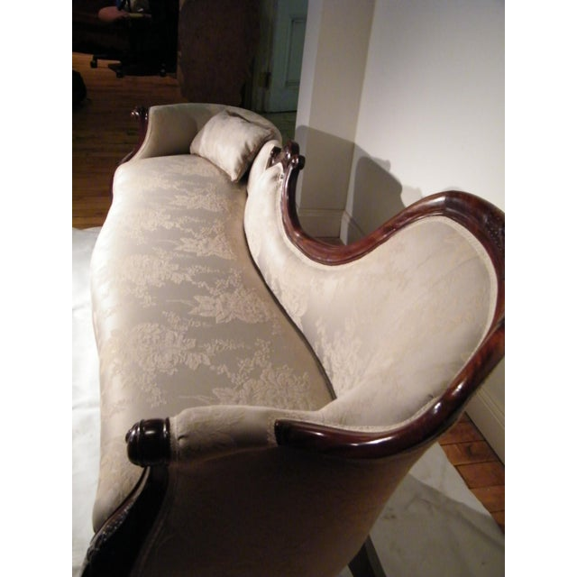 Antique Victorian Rosewood Sofa - Image 5 of 10