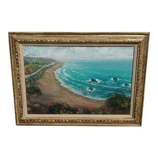 Original Painting by San Francisco Artist Albert Tolf For Sale
