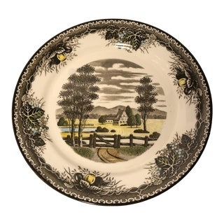 Spring Valley Transferware Plate For Sale