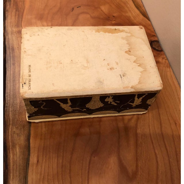 Vintage Mid-Century Hinged Guerlain Box For Sale - Image 9 of 12