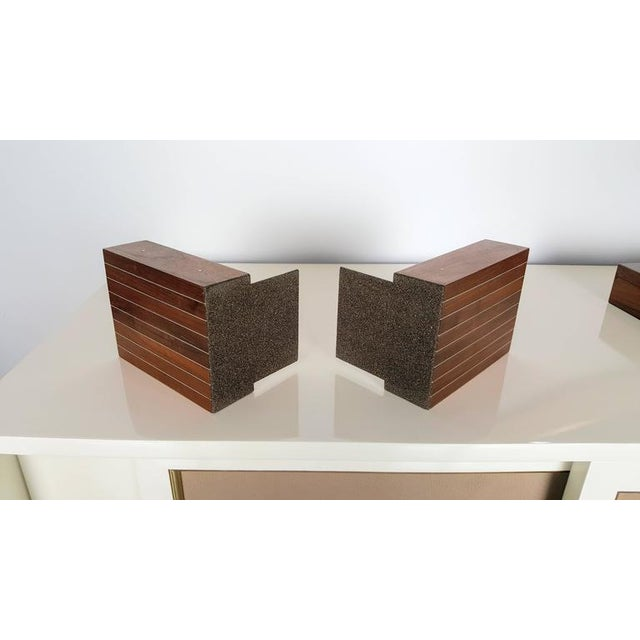 1960s Paul Evans and Phillip Lloyd Powell Bookends - A Pair For Sale - Image 5 of 5