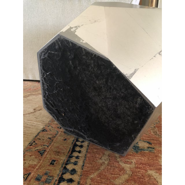 Resin Minimalist Baker Quarry Accent Table For Sale - Image 7 of 9