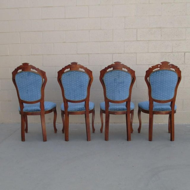 Antique Italian Dining Chairs - Set of 4 - Image 2 of 8 - Antique Italian Dining Chairs - Set Of 4 Chairish