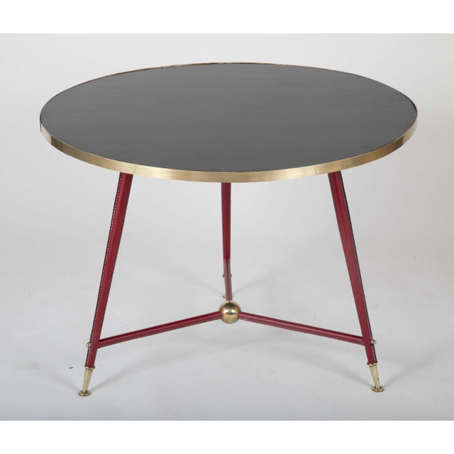 Pair Of Jules Leleu Side Tables For Sale - Image 11 of 13
