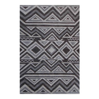"Aara Rugs Hand Knotted Navajo Style Rug - 10'4"" x 13'10"""