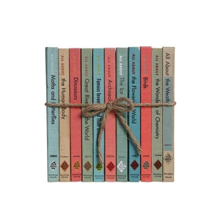 """Vintage """"All About"""" Books for Kids Gift Set, S/11 For Sale"""