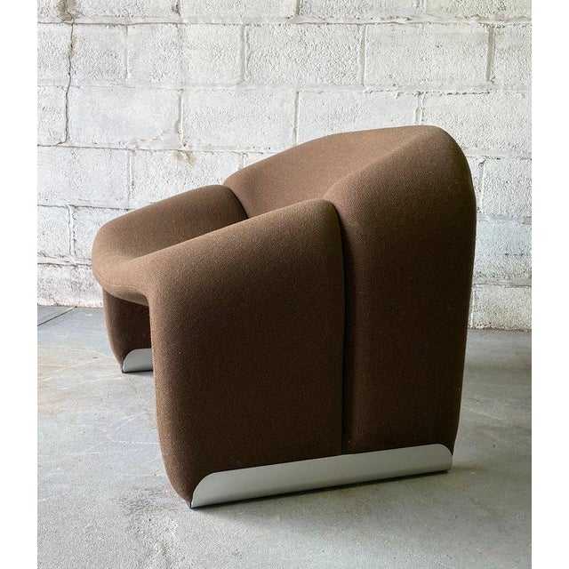 "Pierre Paulin Mid Century Modern ""Groovy"" Armchair by Pierre Paulin for Artifort, Holland For Sale - Image 4 of 11"