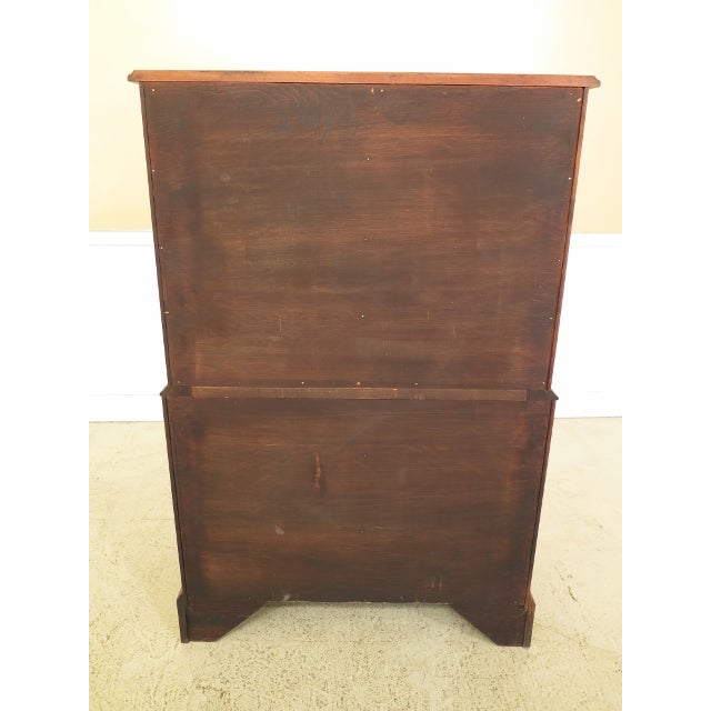 Henkel Harris Solid Cherry Rafferty High Chest For Sale - Image 12 of 13