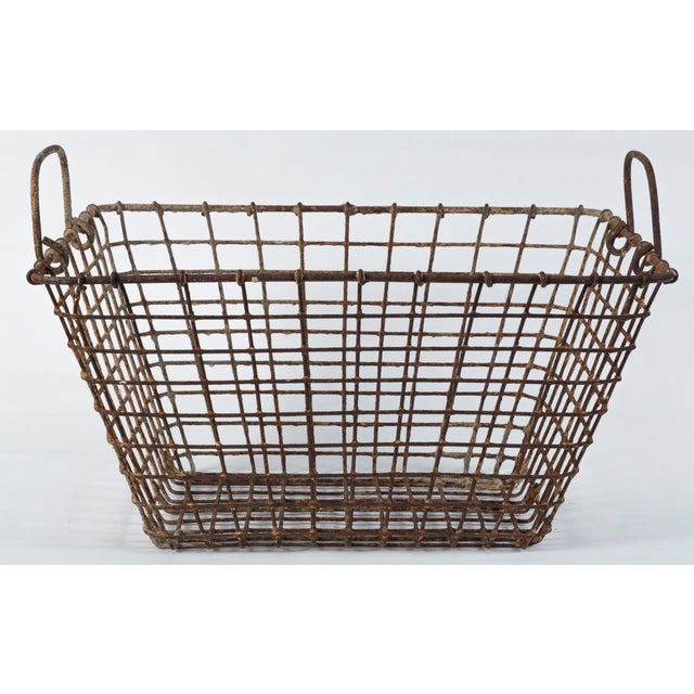 20th Century French Oyster Baskets - a Pair For Sale In New York - Image 6 of 11