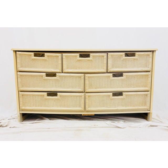 Americana Vintage Hollywood Regency Style Dresser For Sale - Image 3 of 10