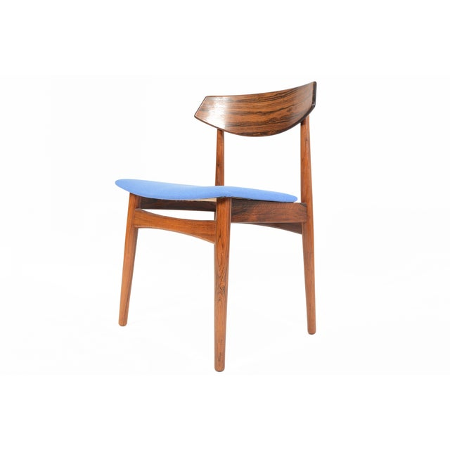 Danish Modern Rosewood Dining Chairs - Set of 4 - Image 11 of 11