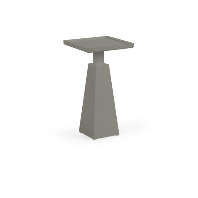 Transitional Casa Cosima Hayes Spot Table, Chelsea Gray For Sale - Image 3 of 3