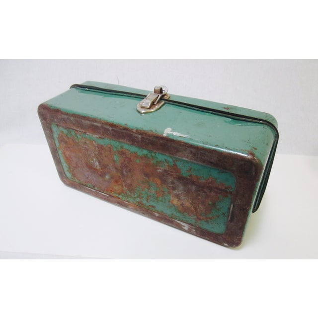 Green Liberty NY Metal Chest - Image 8 of 11