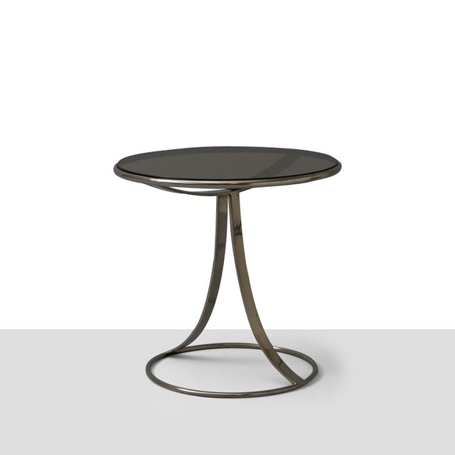 Chrome Gardner Leaver Occasional tables for Steelcase - a pair For Sale - Image 7 of 7