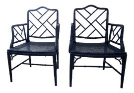 Image of Lacquer Corner Chairs