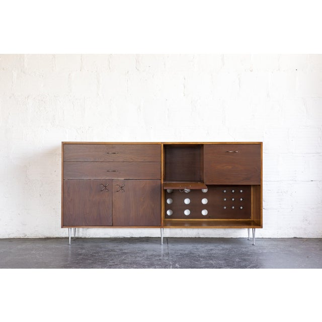Mid-Century Modern 1970s Mid-Century Modern George Nelson for Herman Miller Credenza For Sale - Image 3 of 13