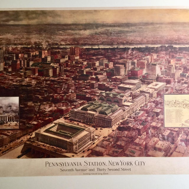 Paper Historic Maps Views of New York Coffee Table Book For Sale - Image 7 of 8