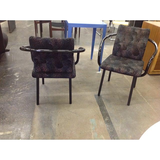 Knoll Ettore Sottsass Mandarin Chairs - A Pair - Image 4 of 9