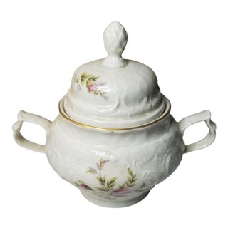 Vintage Rosenthal China Classic Sanssouci Sugar Pot For Sale