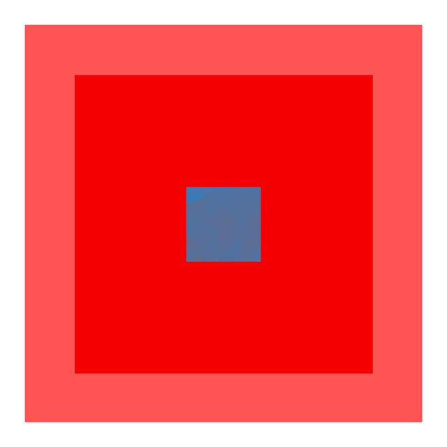 """Modern """"Color Study #16"""" Unframed Geometric Print For Sale - Image 3 of 3"""