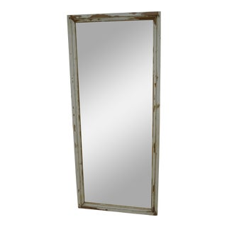 Pine Full Length Mirror from Antique French Panel