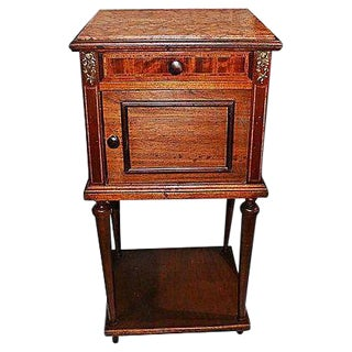1880s Signed Louis XVI Style French Nighstand