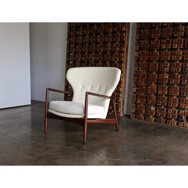 Ib Kofod-Larsen Wingback Lounge for Selig, Circa 1965 For Sale - Image 13 of 13