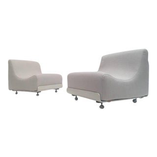 """Pair of Modulair """"orbis"""" Seating Units by Luigi Colani for Cor Germany, 1970"""