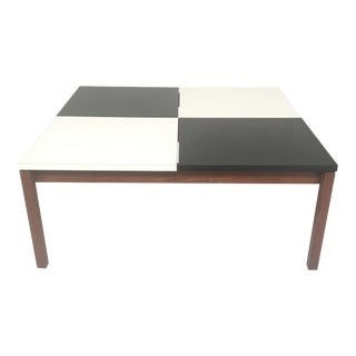 Knoll Black And White Coffee Table