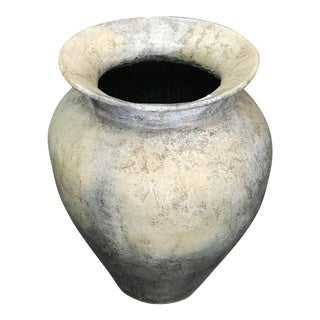 Antique Gray Balinese Planter For Sale