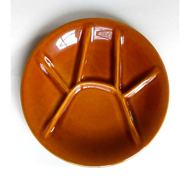Boch Freres Keralux Divided Plates - Set of 4 For Sale - Image 5 of 10