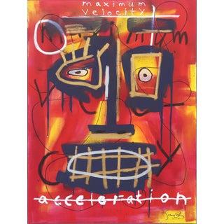 """""""Maximum Velocity"""" Original Artwork by Soren Grau For Sale"""