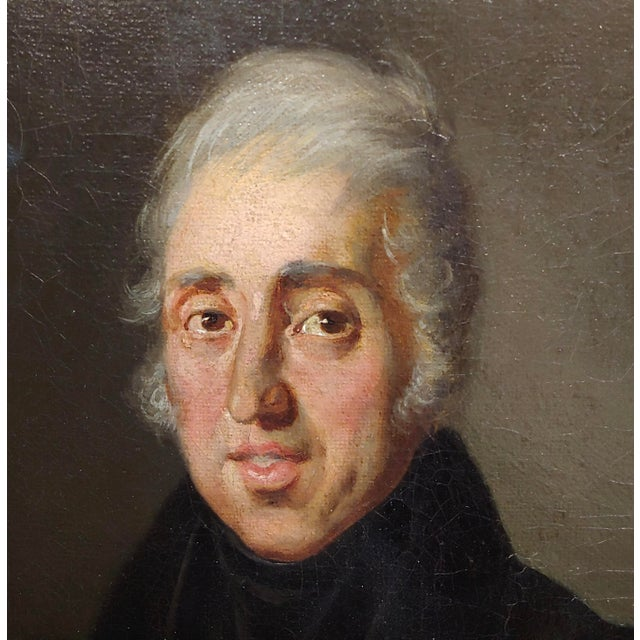 Mid 19th Century Portrait of Andrew Jackson - 19th Century Oil Painting For Sale - Image 5 of 8