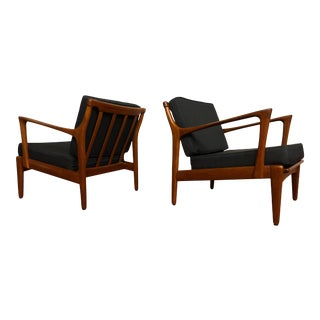 1960s Kuba Lounge Chairs by Bertil Fridhagen for Bröderna Andersson - Made in Sweden For Sale