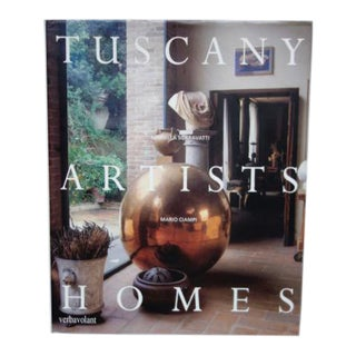 Tuscany Artists Homes Book For Sale