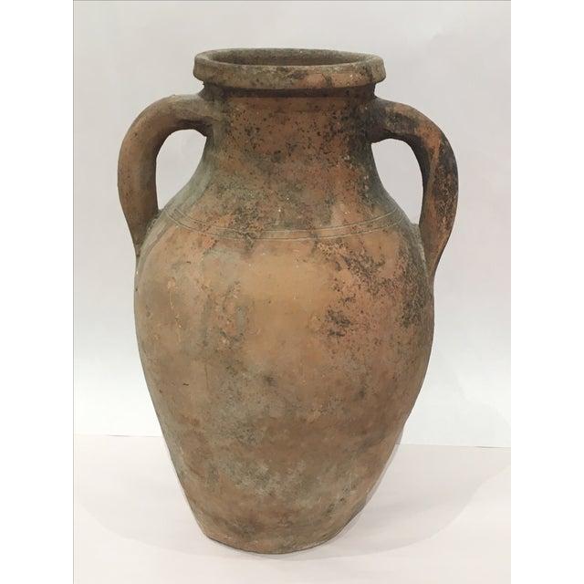 Mediterranean Turkish Ceramic Olive Oil Pot - Image 2 of 9